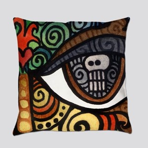 Skull Eye Everyday Pillow