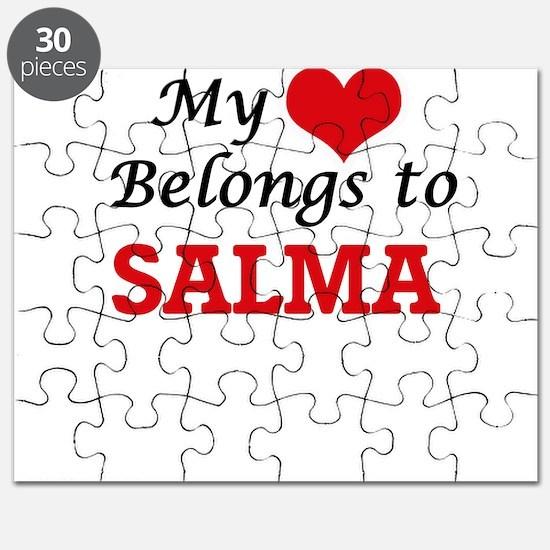 My heart belongs to Salma Puzzle