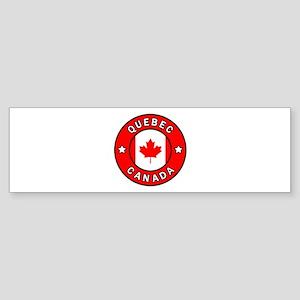 Quebec Canada Bumper Sticker
