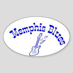 Memphis Blues Sticker