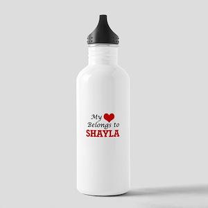 My heart belongs to Sh Stainless Water Bottle 1.0L