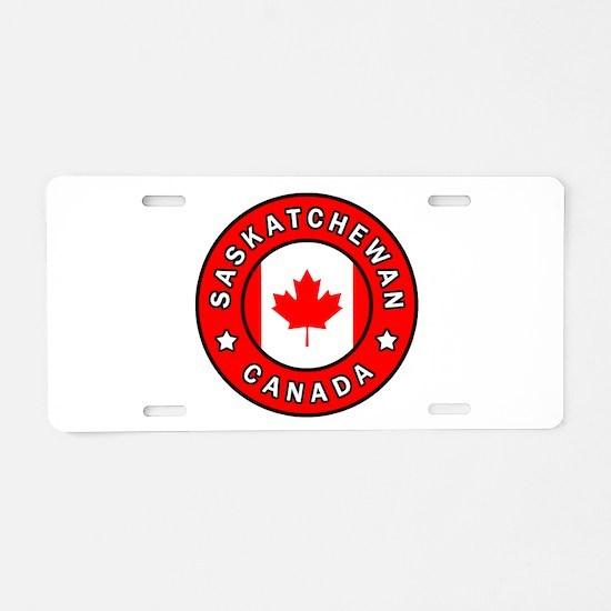 Saskatchewan Canada Aluminum License Plate