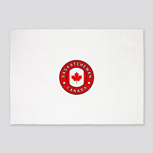 Saskatchewan Canada 5'x7'Area Rug