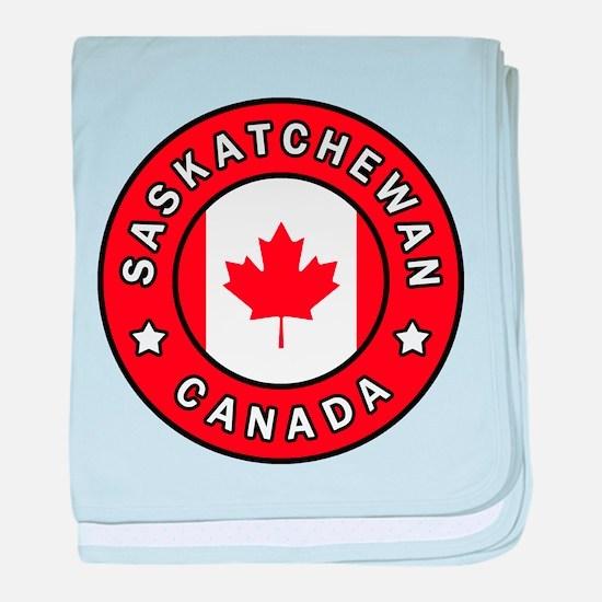 Saskatchewan Canada baby blanket
