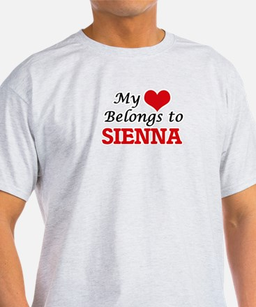 My heart belongs to Sienna T-Shirt