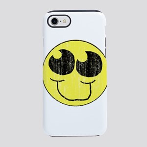 Vintage Happy Smiley Face iPhone 8/7 Tough Case