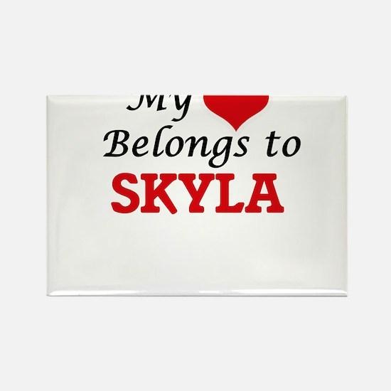 My heart belongs to Skyla Magnets