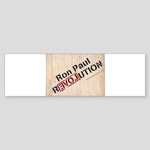 Ron Paul Constitution VERTICAL Bumper Sticker