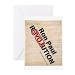 Ron Paul Constitution Greeting Cards (Pk of 10)