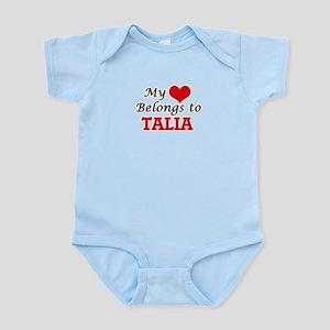 My heart belongs to Talia Body Suit
