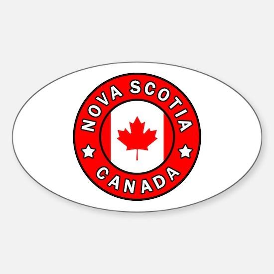 Unique Kingston canada Sticker (Oval)