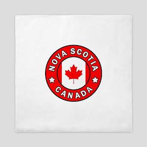 Nova Scotia Canada Queen Duvet
