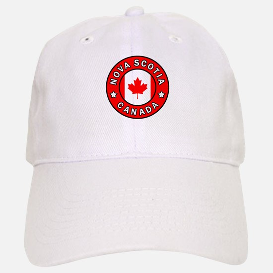 Nova Scotia Canada Baseball Baseball Cap