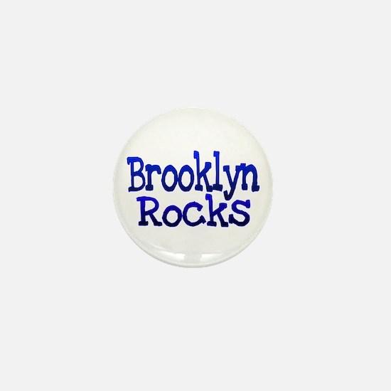 Brooklyn Rocks Mini Button