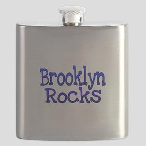 Brooklyn Rocks Flask