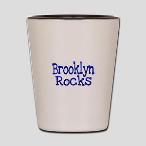 Brooklyn Rocks Shot Glass