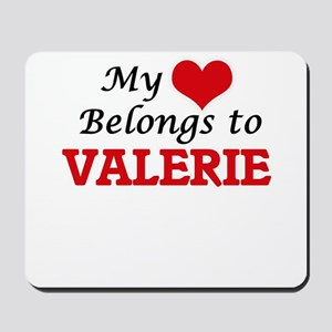 My heart belongs to Valerie Mousepad