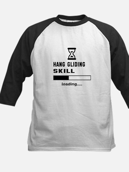 Hang Gliding Skill Loading... Kids Baseball Jersey