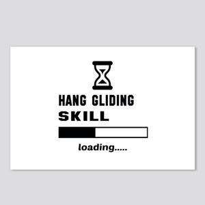 Hang Gliding Skill Loadin Postcards (Package of 8)