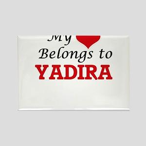 My heart belongs to Yadira Magnets