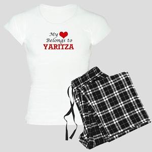My heart belongs to Yaritza Women's Light Pajamas