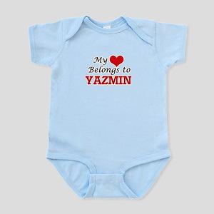My heart belongs to Yazmin Body Suit