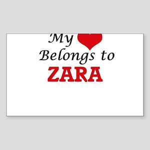My heart belongs to Zara Sticker