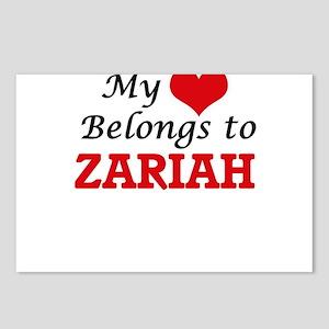 My heart belongs to Zaria Postcards (Package of 8)