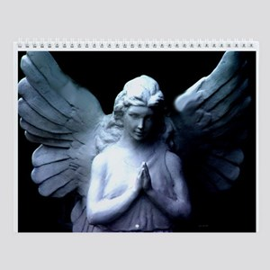 New Orleans cemetery angel Wall Calendar