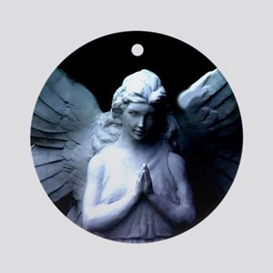 New Orleans cemetery angel Ornament (Round)
