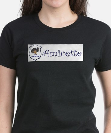 Amicette Curls White T-Shirt