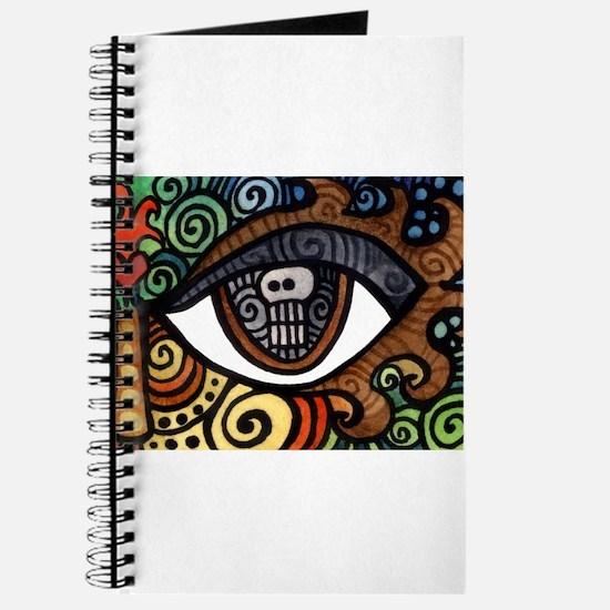 Skull Eye Journal