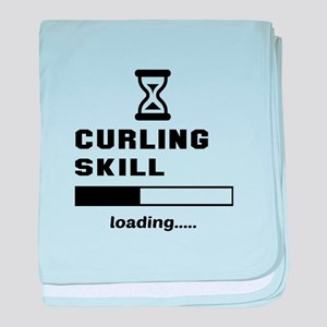Curling Skill Loading.... baby blanket