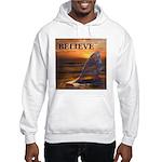 BELIEVE WHALE Hooded Sweatshirt
