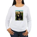 Mona / Gr Dane (bl) Women's Long Sleeve T-Shirt