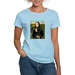 Mona / Gr Dane (bl) Women's Light T-Shirt