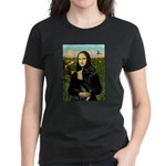 Mona / Gr Dane (bl) Women's Dark T-Shirt