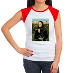 Mona / Gr Dane (bl) Women's Cap Sleeve T-Shirt