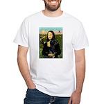 Mona / Gr Dane (bl) White T-Shirt