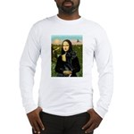 Mona / Gr Dane (bl) Long Sleeve T-Shirt