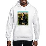 Mona / Gr Dane (bl) Hooded Sweatshirt