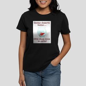 Bettas Deserve Better Kids T-Shirt