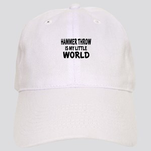 Hammer throw Is My little World Cap
