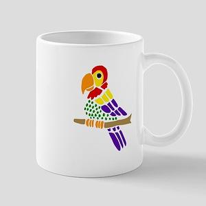 Funny Parrot Art Mugs