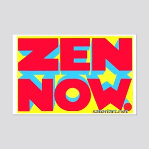 Zen Now. (ryb) Mini Poster Print