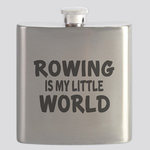 Rowing Is My little World Flask