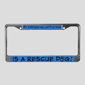 Rsce Dog Australian Cattle Dog License Plate Frame