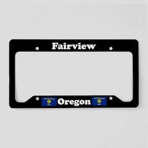 Fairview OR - LPF License Plate Holder