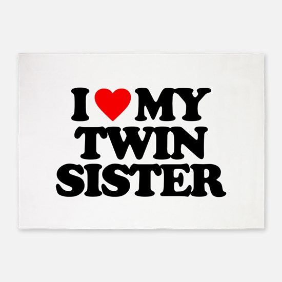 I Love My Twin Sister Quotes Adorable I Love My Twin Sister Quotes Rugs I Love My Twin Sister Quotes