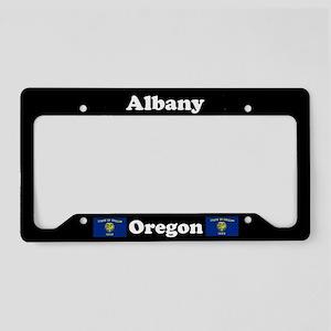 Albany OR - LPF License Plate Holder